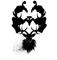Mysterious stag2 vector