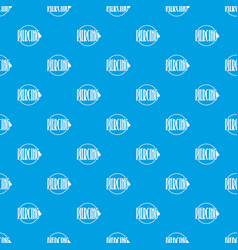 nose piercing pattern seamless blue vector image