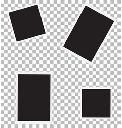 set of photo for your picture photo frame sign vector image
