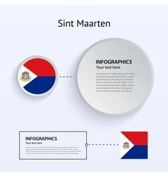 Sint Maarten Country Set of Banners vector