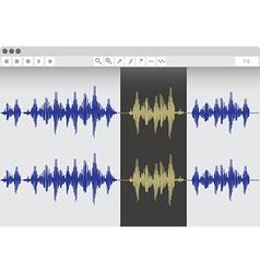 Waveeditor vector