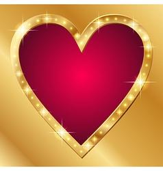 Flash banner valentine vector image vector image