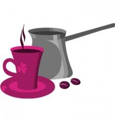 coffee drink vector image vector image