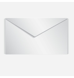 Realistic letter vector image