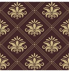 Vintage wallpaper seamless vector image vector image