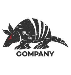 Animal battleship logo vector