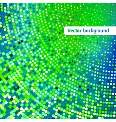 Disco glowing background with dots vector image vector image