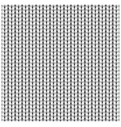 white seamless texture knitting woolen clothes vector image