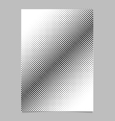 Abstract halftone diagonal square background vector