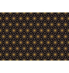 Art Deco Monochrome Gold Seamless Wallpaper or vector