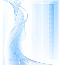 Blue fantasy background vector