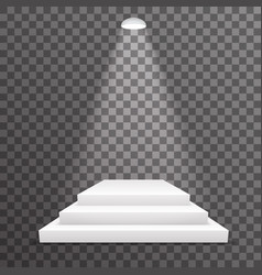 level award pedestal win achievement podium vector image