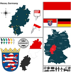 Map of Hesse vector