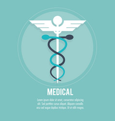 medical healthcare medicine symbol vector image