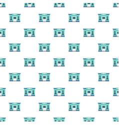 milk shop pattern seamless vector image