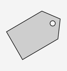 Price label icon vector