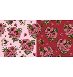 Roses Seamless Pattern vector
