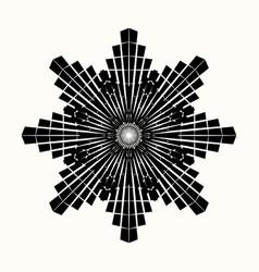 sacred geometry 0110 vector image