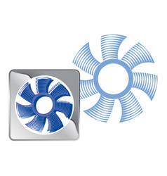 Tunnel fan vector