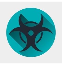 Virus icon epidemic symbol vector