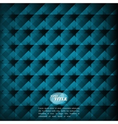 abstract blue background geometric pattern vector image