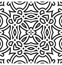 Lattice pattern vector image vector image