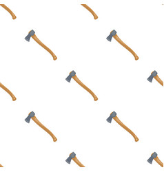 the ax is marchingtent single icon in cartoon vector image