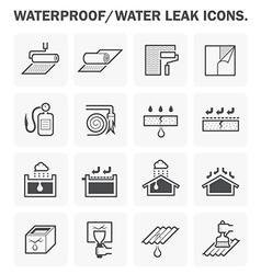 Waterproof icon vector image vector image