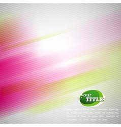 Abstract colorful background with blurred vector