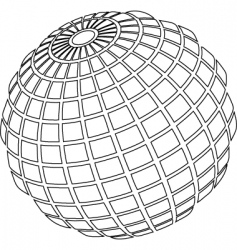 ball wire vector image