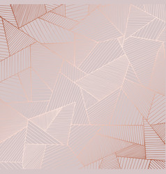decorative background with rose gold imitation vector image