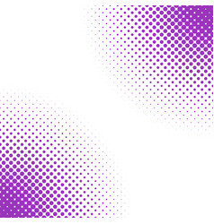 geometric halftone dot pattern background - from vector image
