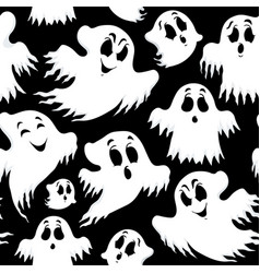 halloween seamless background 5 vector image