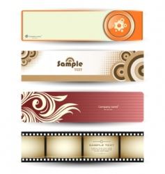 header banners vector image