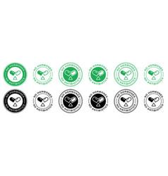 Sticker no hormones no antibiotics 6 a vector