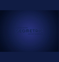 Triangle pattern blue color background geometric vector
