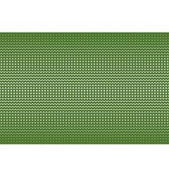 Abstract green knitting seamless pattern vector