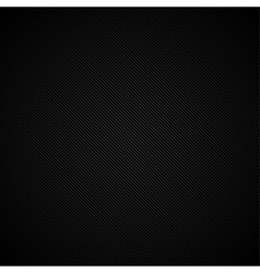 Black striped texture - background vector image