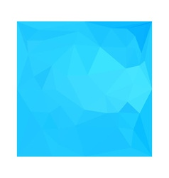 Dark Turquoise Abstract Low Polygon Background vector