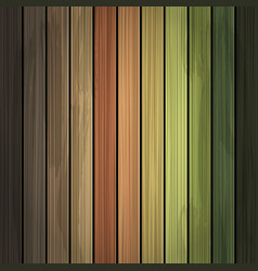 multicolor grunge wood background texture vector image vector image
