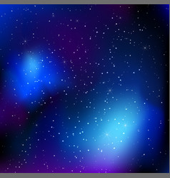 Sky background with stars vector