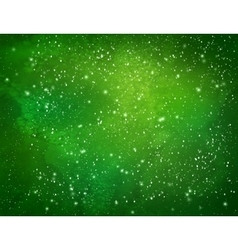 Green watercolor grunge background vector image vector image