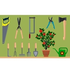 Instrument for gardening vector image vector image