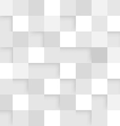 Abstract square white background vector image