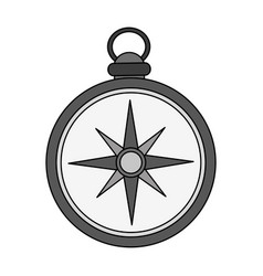 Vintage compass icon image vector