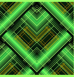 abstract geometric striped 3d seamless pattern vector image