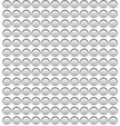 grey abstract circular mosaic on white background vector image