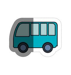 van vehicle icon vector image