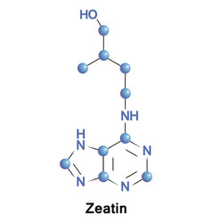 Zeatin is a plant hormone vector