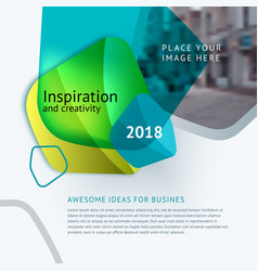 abstract design for graphic template vector image